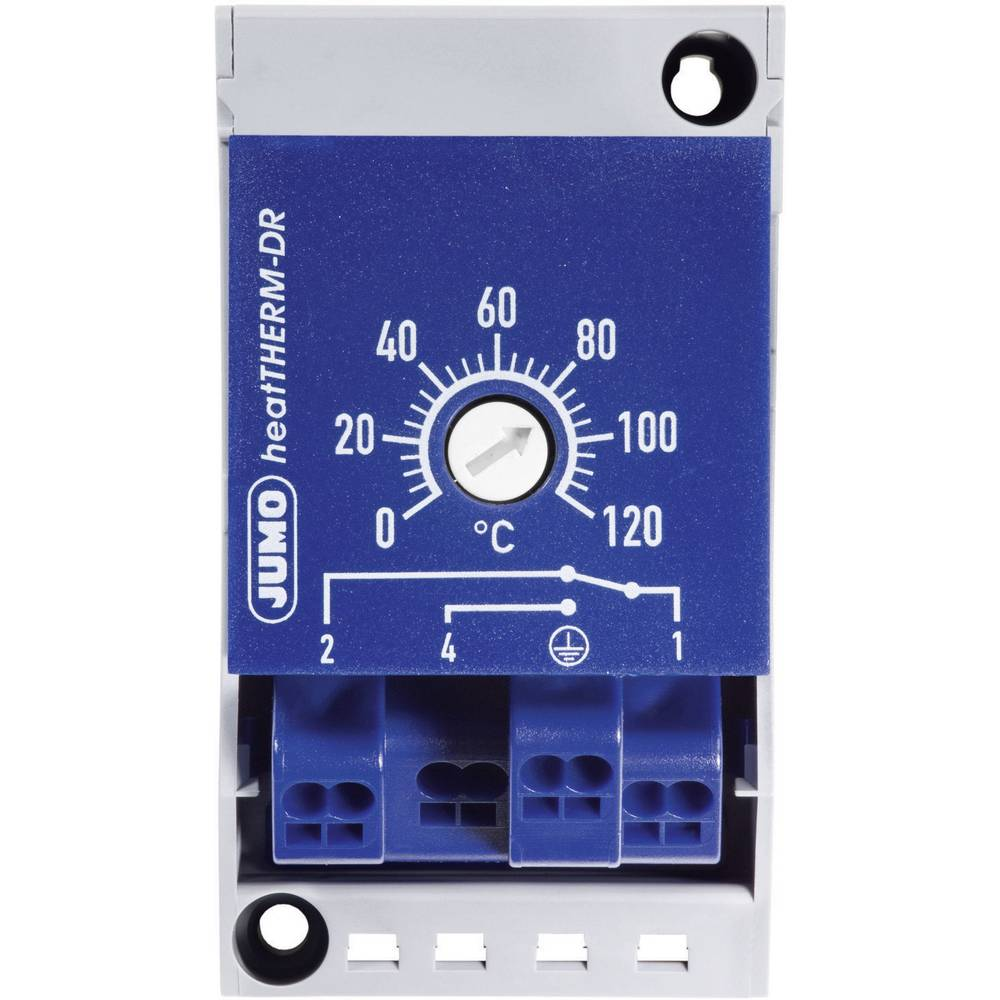 Termostat za DIN-vodilicu JumoheatTHERM 60003285, 50 do 300C230 V/AC