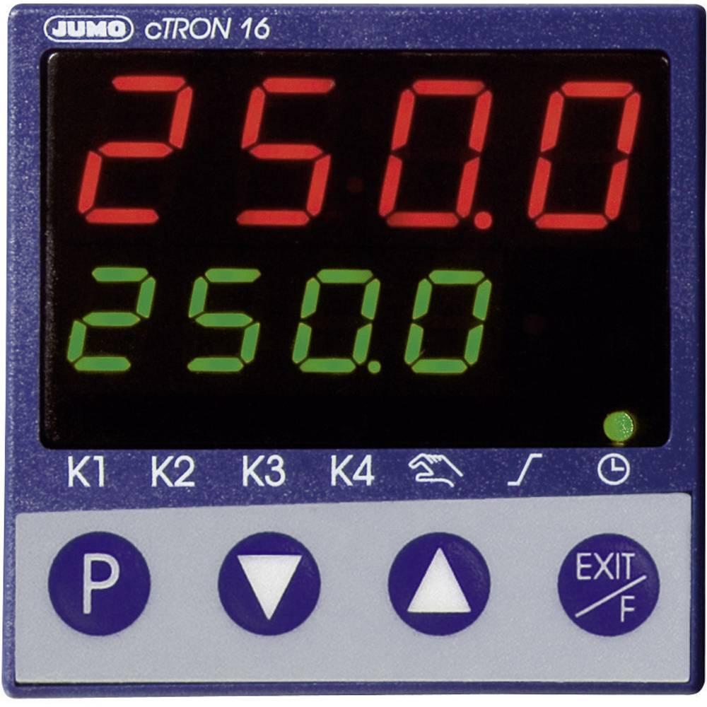 Kompaktni regulator s timerjemin funkcijo rampe Jumo cTRONinfunkcijo rampe Jumo cTRON 00495654