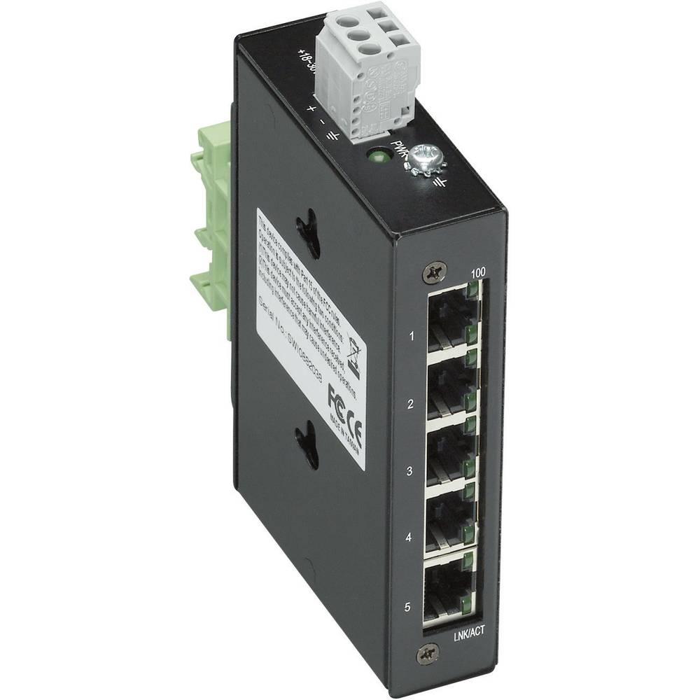 Stikalo Wago Industrial Eco 852-111, 18-30 V/DC, Ethernet vrata: 5, 10/100 Base-TX