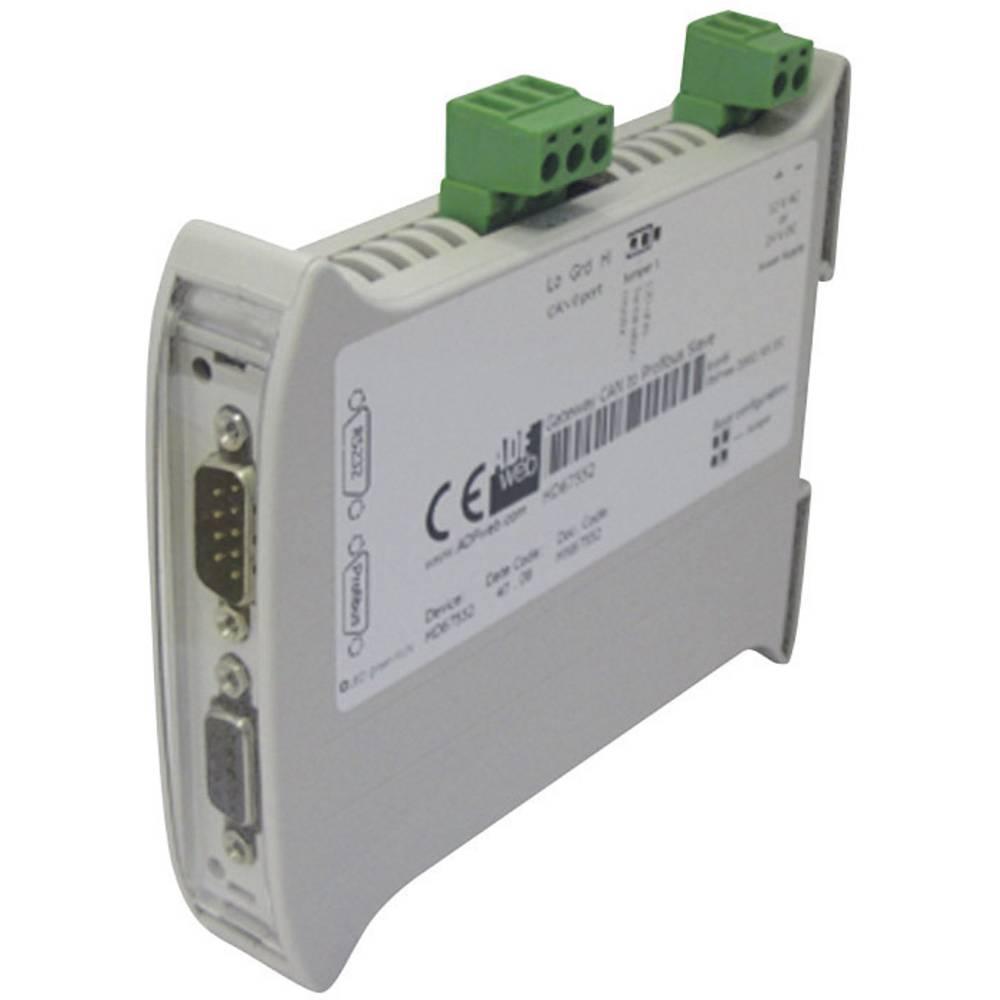 Wachendorff-Gateway CAN Slave/Profibus DP Slave HD67552, 24V/DC, 12V/AC, vmesnik(n) CAN2.0