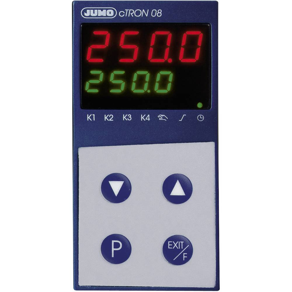 Kompaktni regulator s timerjemin funkcijo rampe JUMO cTRONinfunkcijo rampe JUMO cTRON 00495657