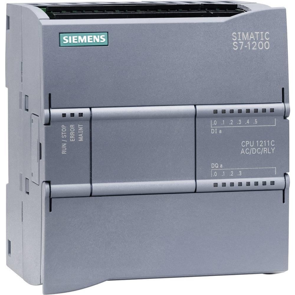 SPS upravljački modul Siemens CPU 1211C AC/DC/RELAIS 6ES7211-1BD30-0XB0 115 V/AC, 230 V/AC