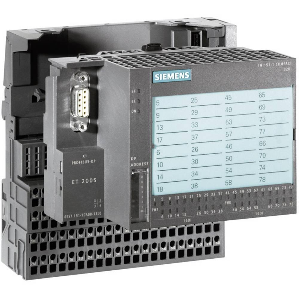 SPS krmilni modul Siemens ET 200S Compact 6ES7151-1CA00-3BL0 24 V/DC