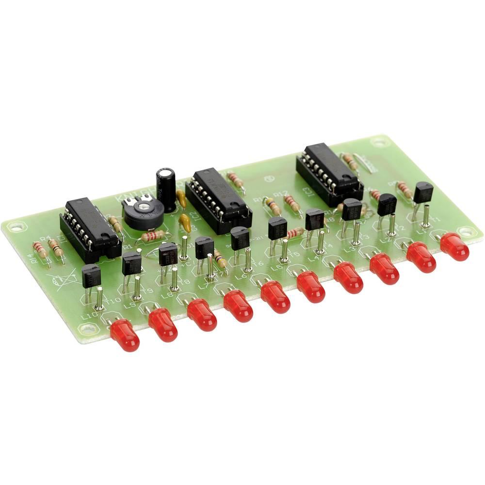 Conrad 10-kanalna naprava za svetlobne efekte Komplet za sestavljanje 9 - 15 V/DC