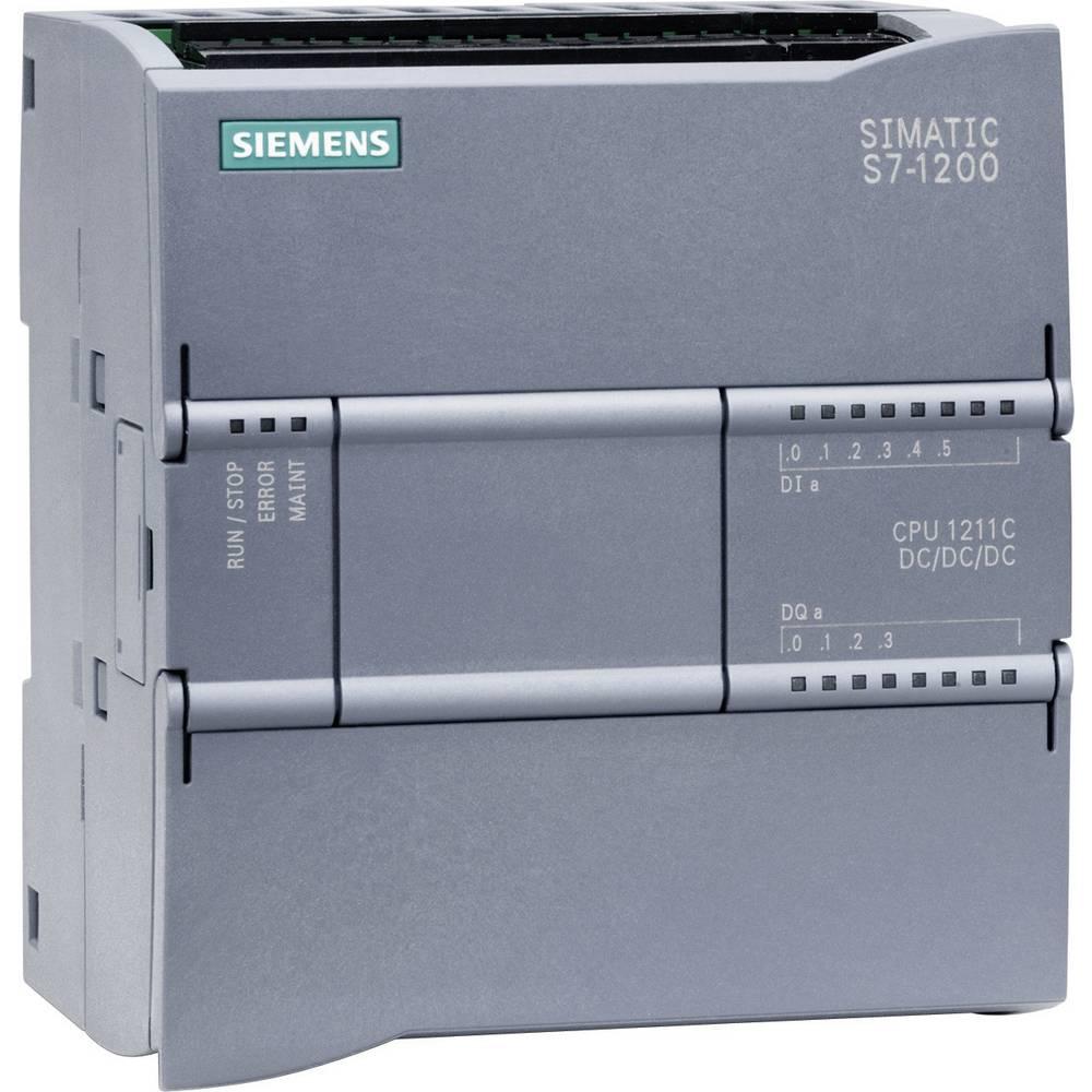 SPS krmilni modul Siemens CPU 1211C DC/DC/DC 6ES7211-1AE31-0XB0 24 V/DC