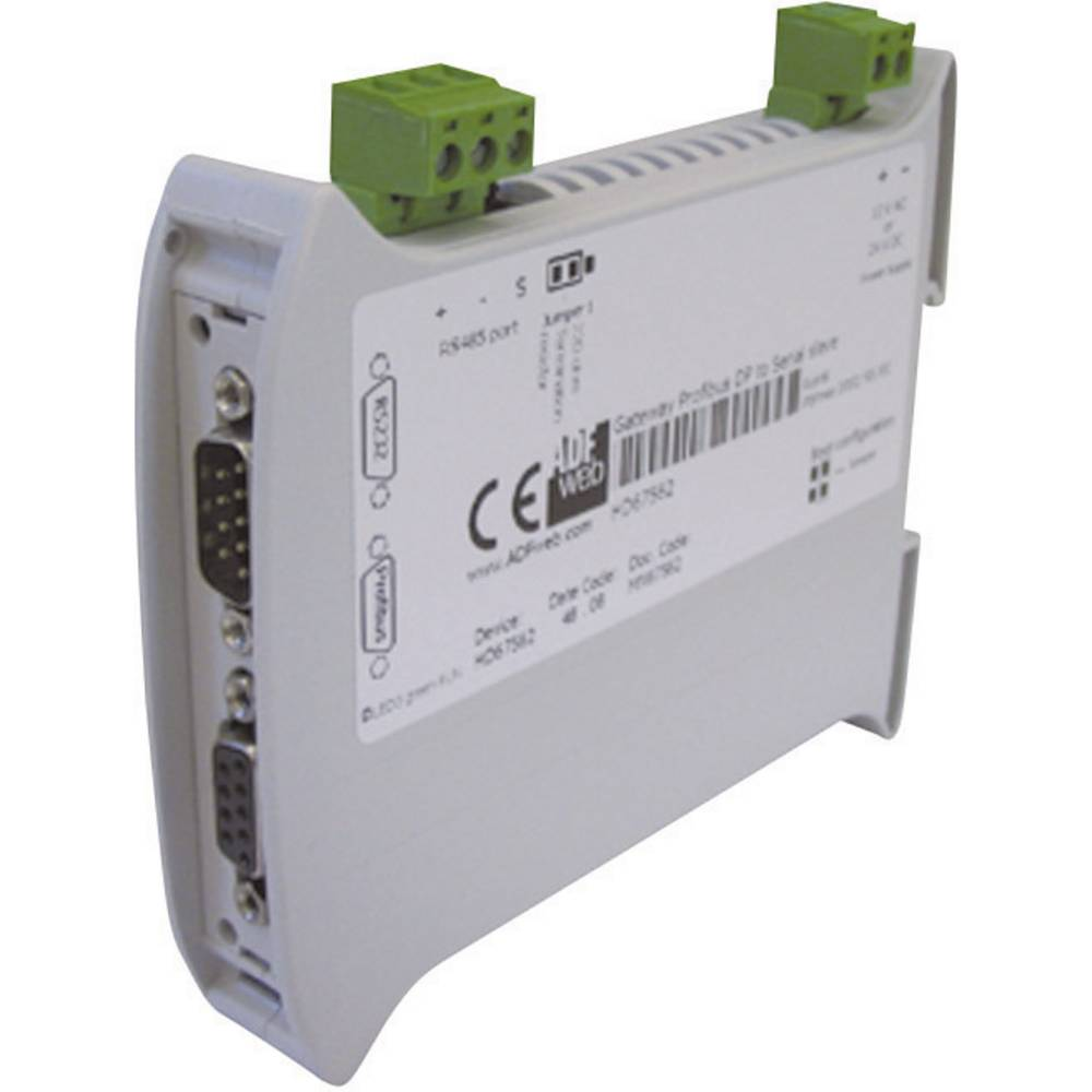 Wachendorff Gateway serijski Slave RS232/RS485 / Profibus DP HD67562 24 V/DC / 12 V/AC vmesniki Profibus DP / RS