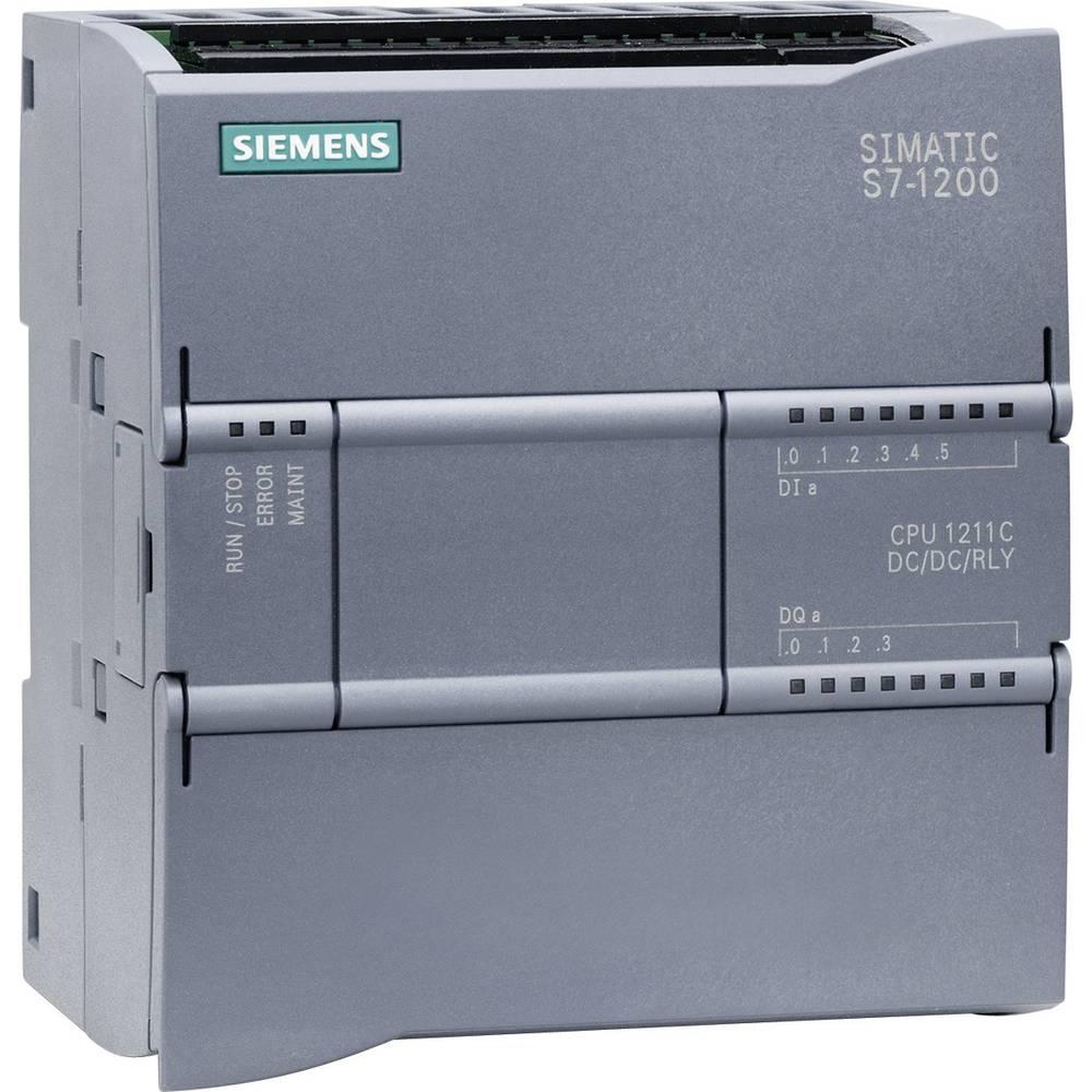 SPS upravljački modul Siemens CPU 1211C DC/DC/RELAIS 6ES7211-1HD30-0XB0 24 V/DC