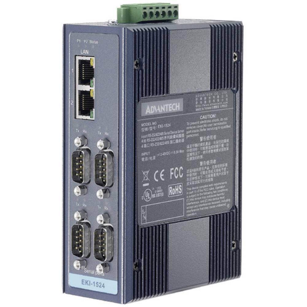 Vmesnik Advantech EKI-1524-AE,4 Port RS-232/422/485 SerialDevice Server, 10-30 V