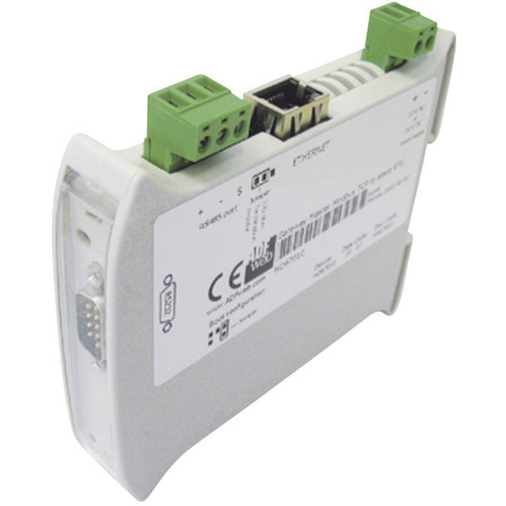 Wachendorff-Gateway ModBUS Slave RTU/ModBUS Client TCP HD67510, 24V/DC, 12V/AC