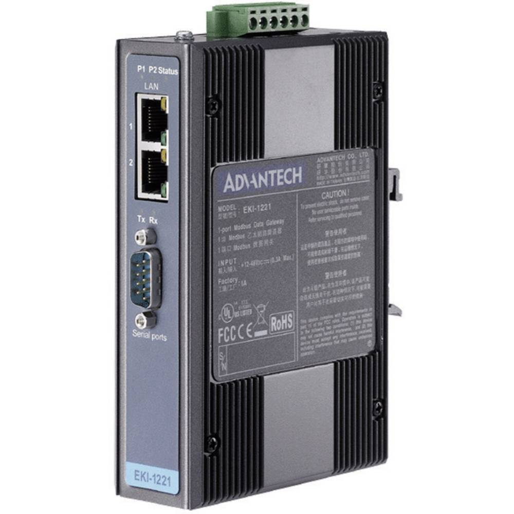 Vmesnik Advantech EKI-1221-AE,1 Port Modbus Gateway, 10-30V