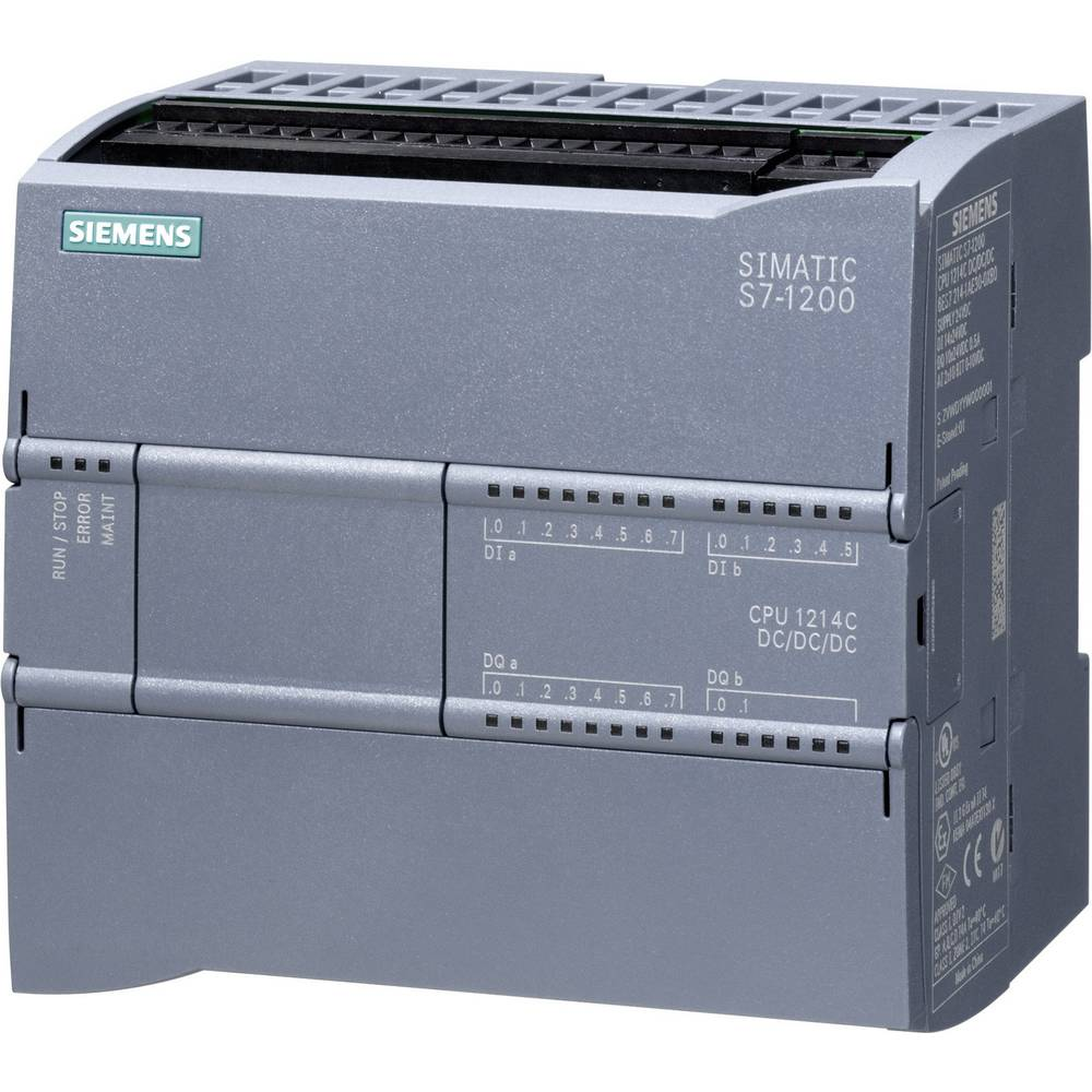 SPS upravljački modul Siemens CPU 1214C DC/DC/DC 6ES7214-1AG31-0XB0 24 V/DC