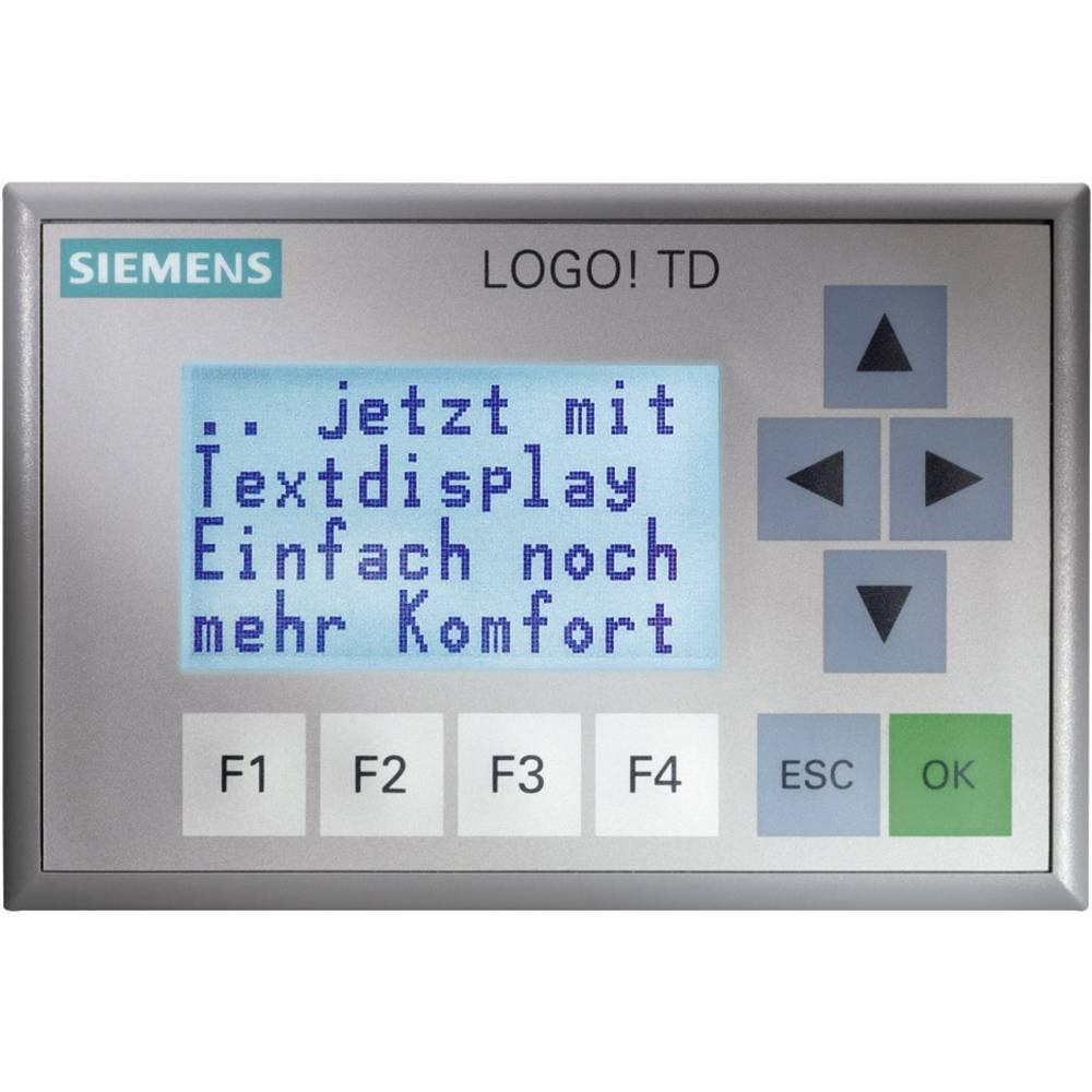 SPS razširitev zaslona Siemens LOGO! TD 6ED1055-4MH00-0BA0