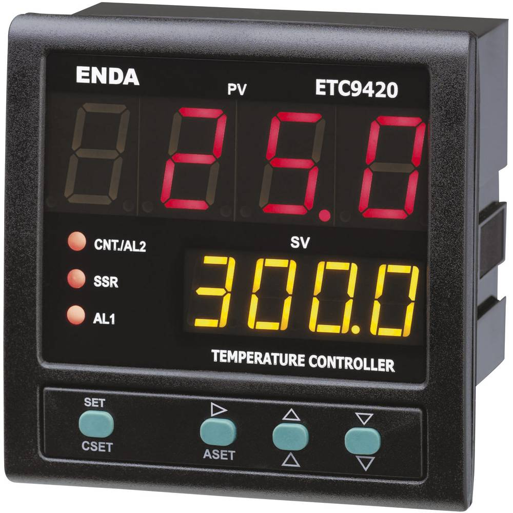 Temperaturni PID-regulator Enda ETC9420-230, (ŠxVxG) 96 x 96x 88 mm 230 V/AC