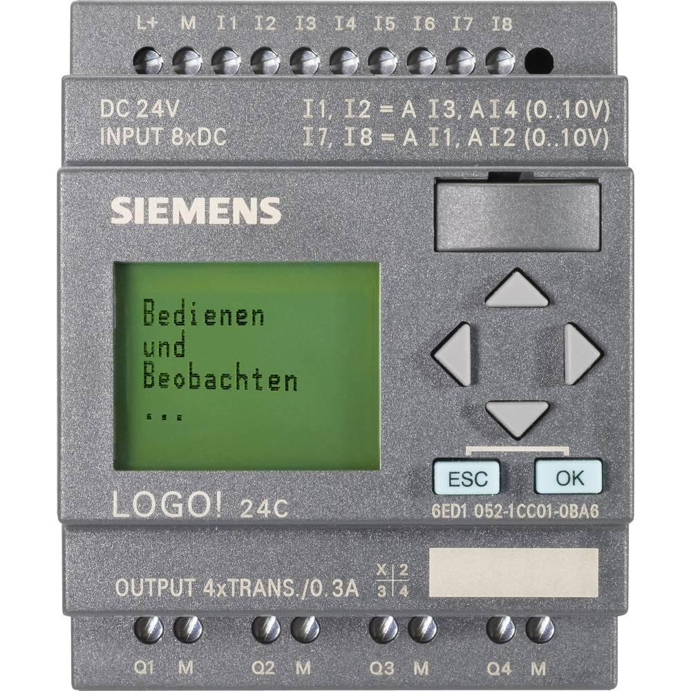 SPS krmilni modul Siemens LOGO! 0BA6 24C 6ED1052-1CC01-0BA6 24 V/DC