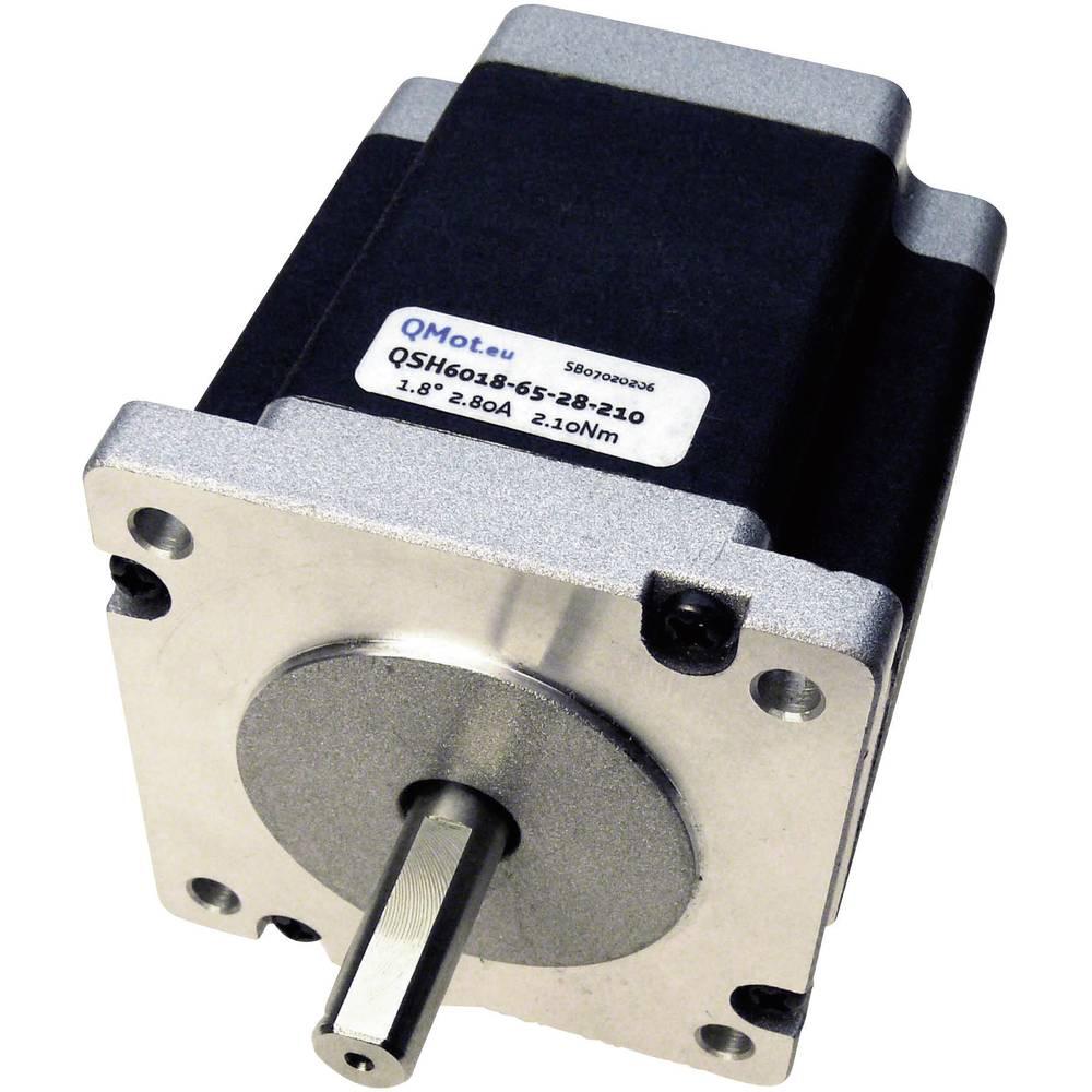 Trinamic QSH6018-65-28-2100-Koračno/Hibridni motor QMot 1,8°, 84V/DC, 2.10 Nm,(max.) 2.8A