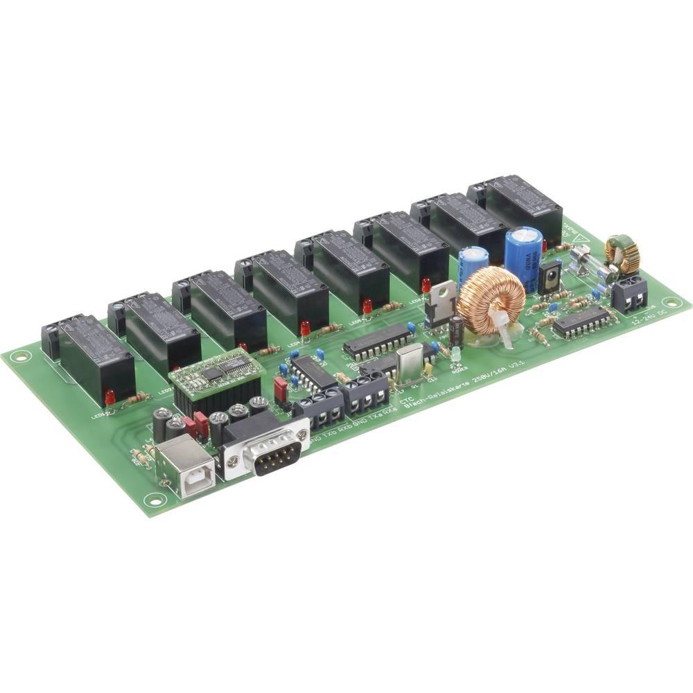 8-KANALNA RELEJNA KARTICA ZA PC 230 V/AC 16A C-Control Conrad