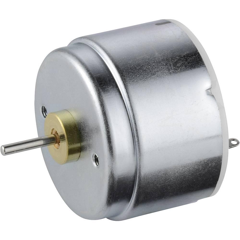 Solarni motor Conrad 0,3 - 6 V, duljina vratila 10,8 mm, promjer vratila 2 mm, nazivni broj okretaja 250 U/min