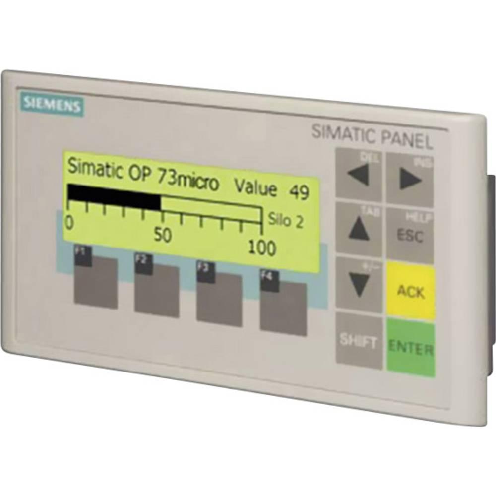SPS razširitev zaslona Siemens SIMATIC OP 73micro 6AV6640-0BA11-0AX0 160 x 48 Pixel