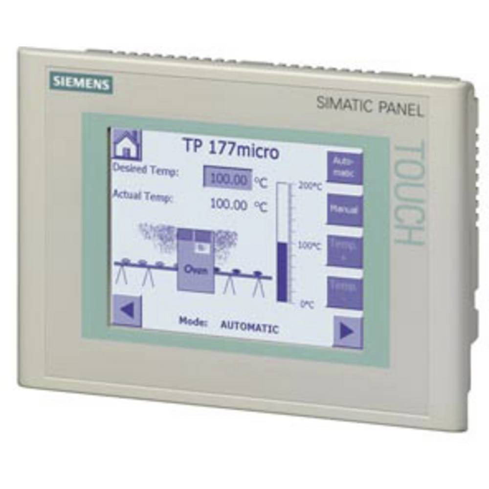 SPS razširitev zaslona Siemens TP 177micro 6AV6640-0CA11-0AX1 320 x 240 Pixel