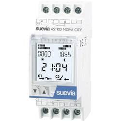 Vremenski prekidač za DIN šine Digitalno Suevia DigiAstro 2 230 V/AC 16 A/250 V