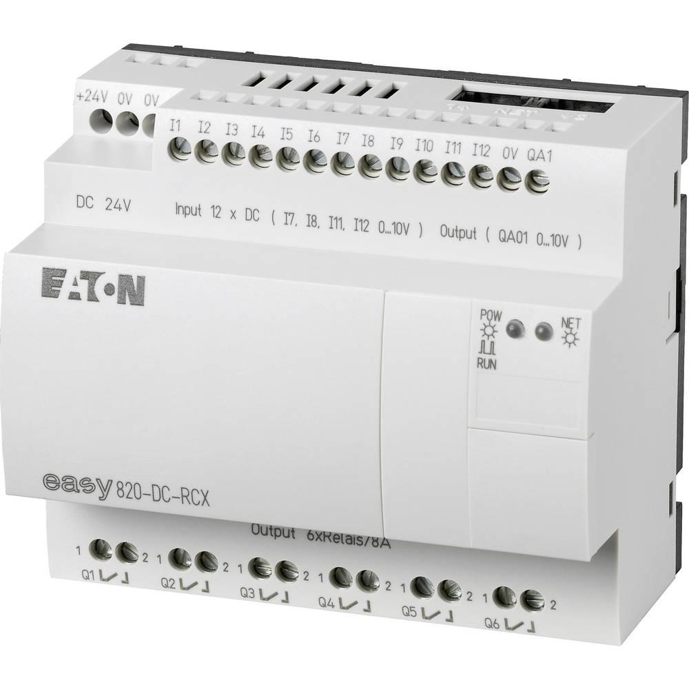 SPS-krmilni modul Eaton easy 820-DC-RCX 256272 24 V/DC