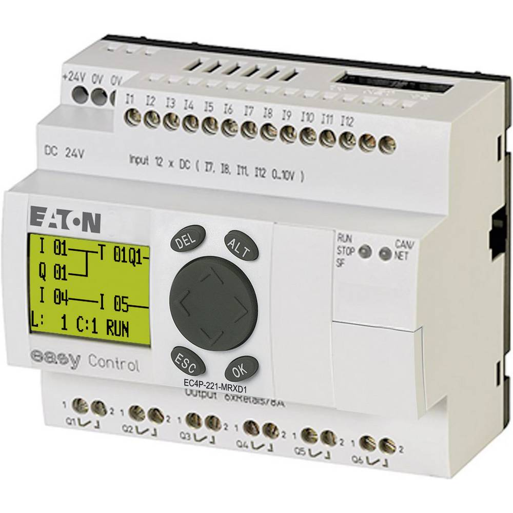 SPS-krmilni modul Eaton EC4P-221-MRXD1 106393 24 V/DC