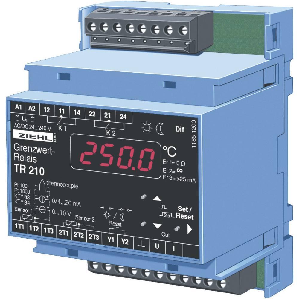 Elektronski nadzornik in regulator temperature Ziehl TR 210,ator temperature Ziehl TR 210, T224071