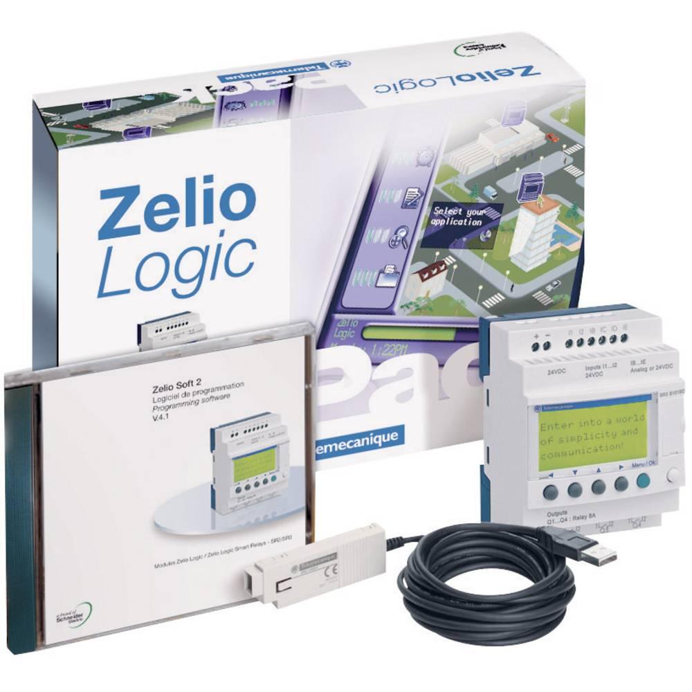 PLC-krmilnik Schneider Electric Zelio Logic SR2 PackFU, 100-c Zelio Logic SR2 PackFU, 100-