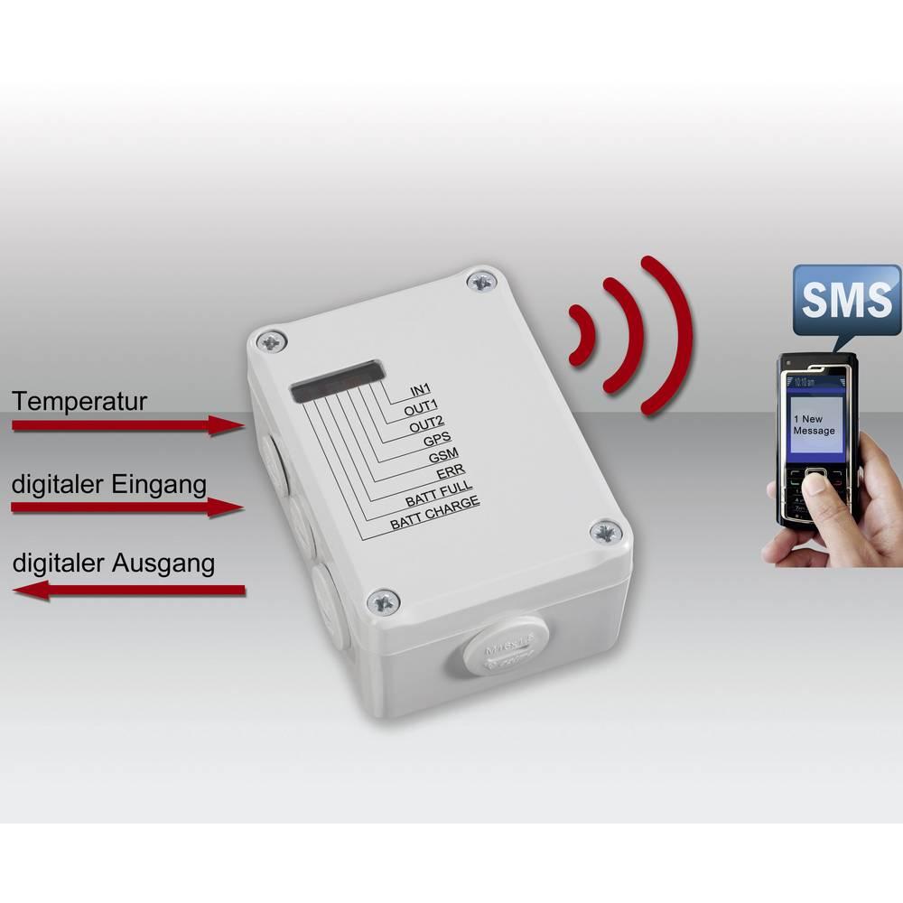 GSM-modul za daljinsko preklapljanje/alarmiranje Conrad GX107 + GPS-antena, ugodni komplet