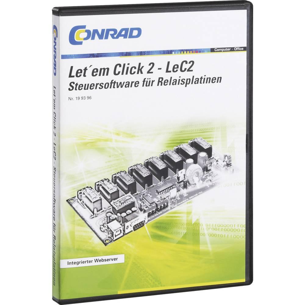 Programska oprema za kontroliranje relejnih krugova Conrad LeC2
