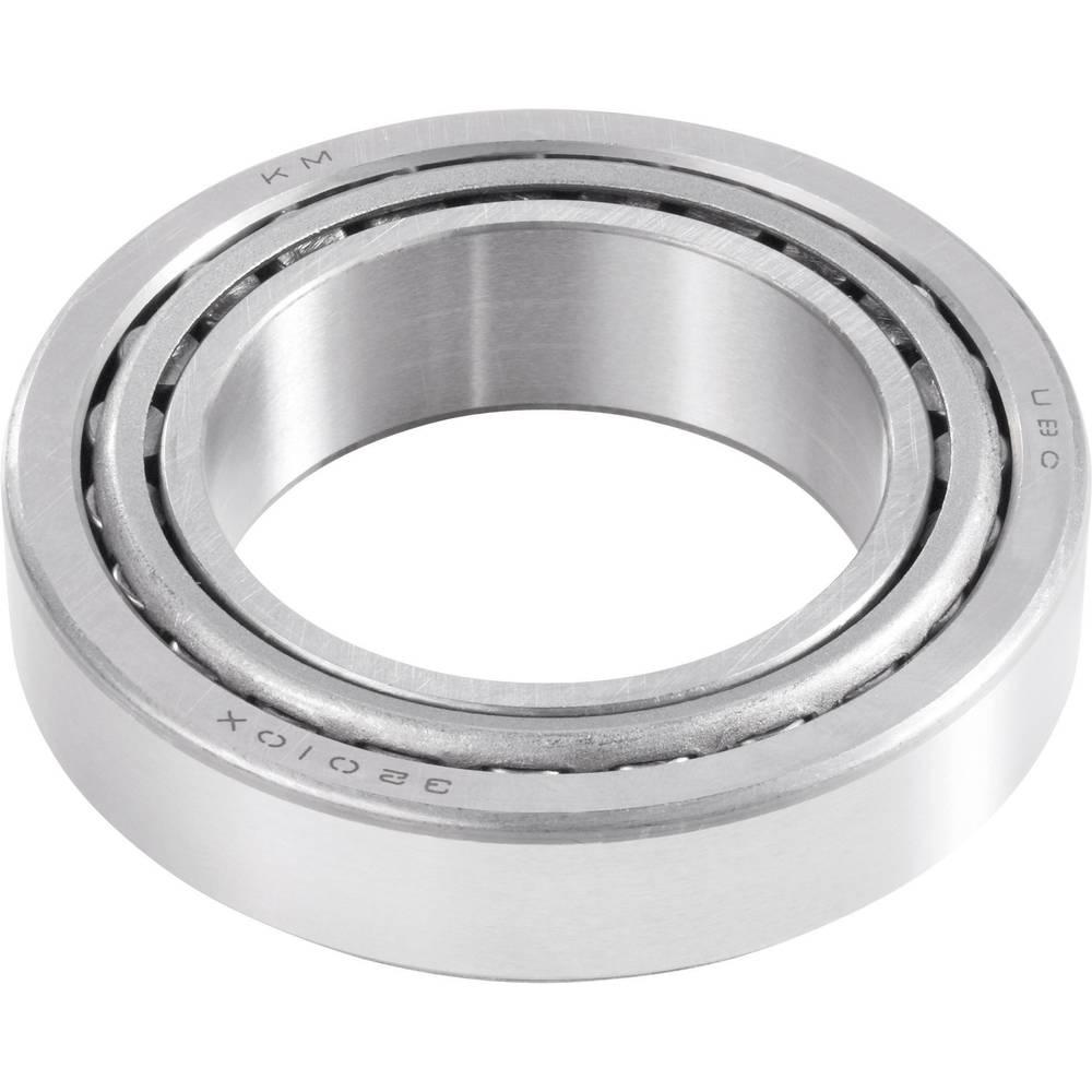 Enovrstični stožčasti ležaj UBC Bearing LM12749/LM12710, DIN720, colski, premer: 22 mm