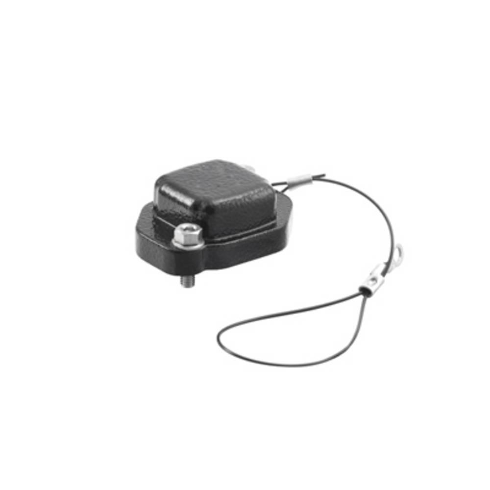 Ohišje vtičnega konektorja HDC IP68 04A COVER Weidmüller vsebuje: 1 kos