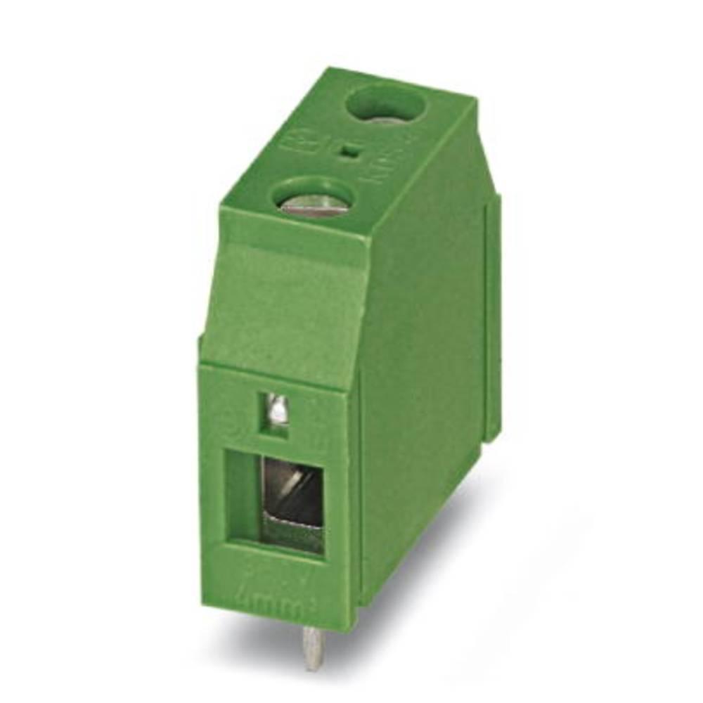 Skrueklemmeblok Phoenix Contact KDS 4 4.00 mm² Poltal 1 Grøn 50 stk