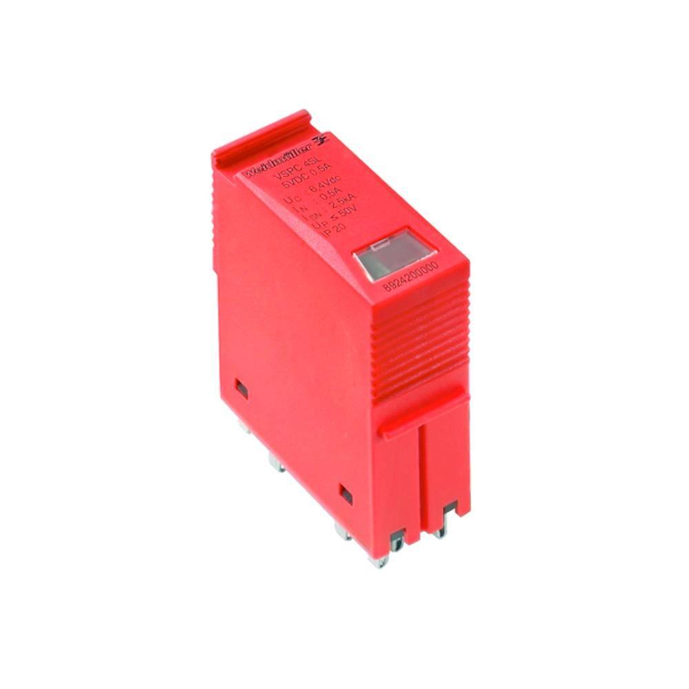 Odvodnik za prenapetostno zaščito, vtični za: razdelilno omaro Weidmüller VSPC 1CL 24VAC R 8951560000 2.5 kA