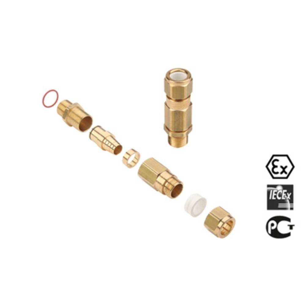 Kabelforskruning Weidmüller KUB M75 BS O SC 2 G75 M75 Messing Messing 1 stk