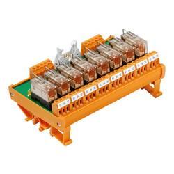 Tiskano vezje za rele, opremljeno 1 kos Weidmüller RSM 8R 24VDC LP GEM.- 1 x preklopni 24 V/DC