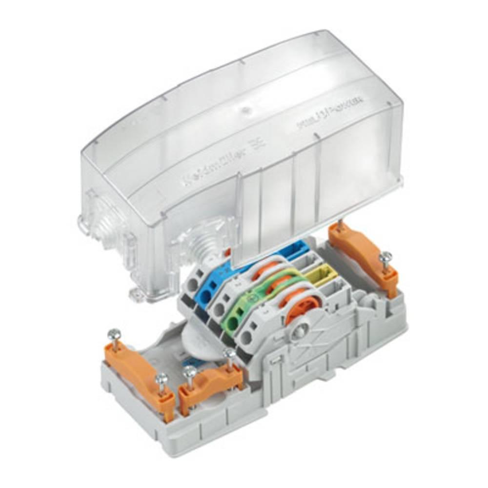 Razdelilna škatla , prilagodljiva: 6-0.5 mm toga: 6-0.5 mm Weidmüller POWERTERMINAL GK 1 kos transparentna