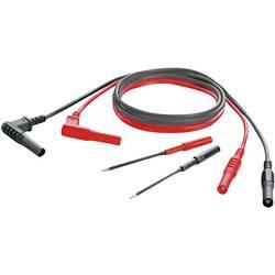 Sikkerhedsprøveledning sæt [Lamellenstecker 4 mm (value.1390730) - Lamellenstecker 4 mm (value.1390730)] 1 m;Sort, Rød;Weidmülle