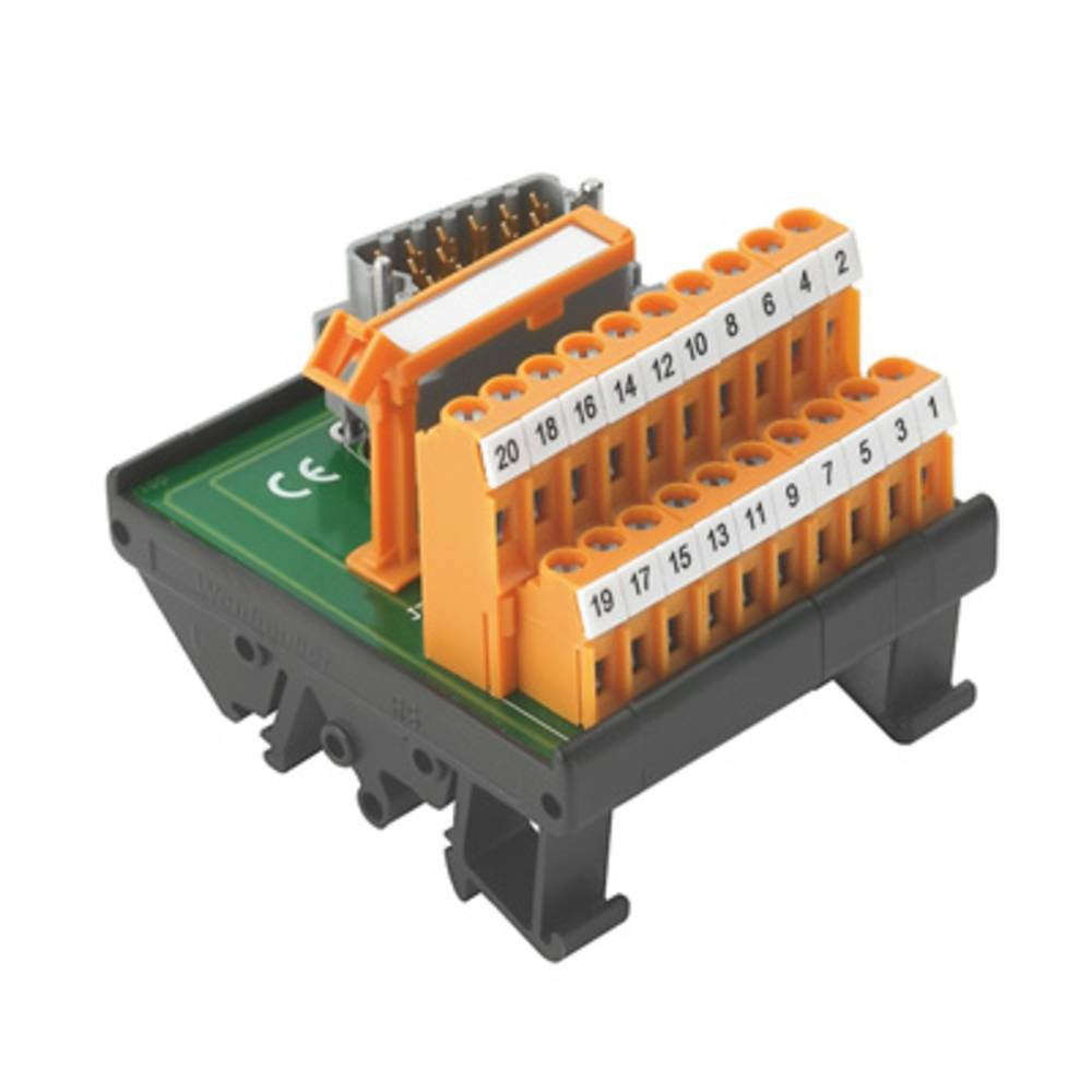 Prenosni element RS ELCO 20/20LM S Weidmüller vsebina: 1 kos