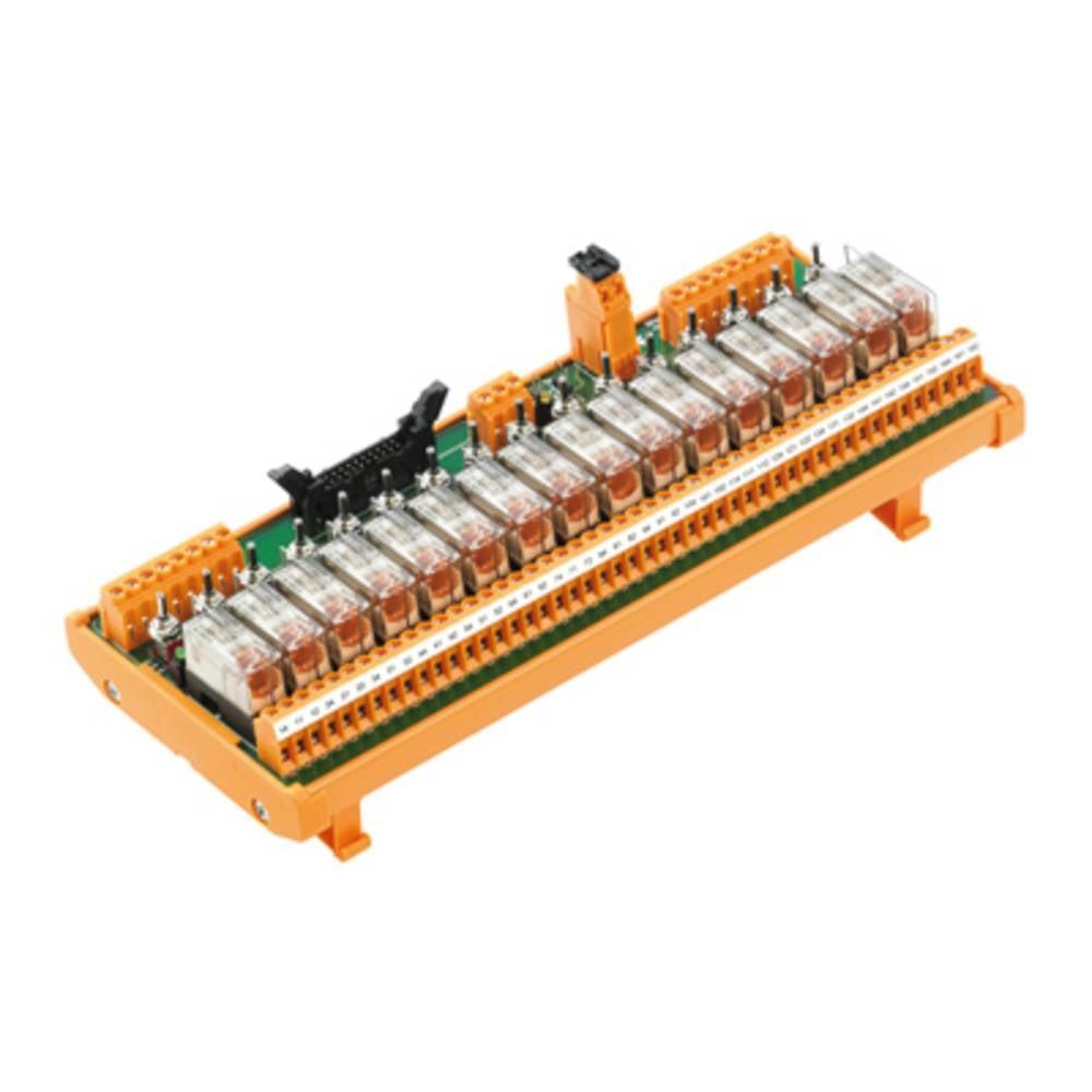 Tiskano vezje za rele 1 kos Weidmüller RSM-16 PLC SW 1CO S 1 x preklopni 24 V/DC