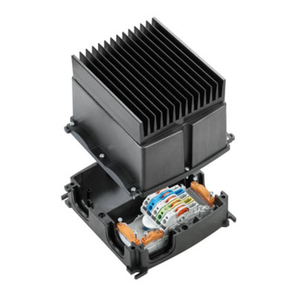 Razdelilna škatla , prilagodljiva: 4-0.5 mm toga: 4-0.5 mm Weidmüller FP BOX 10P SNT 1 kos črna