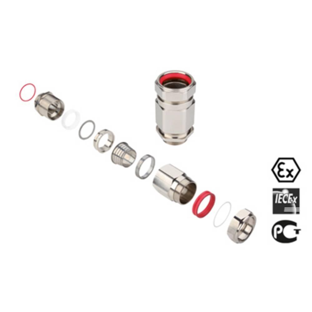 Kabelforskruning Weidmüller KDSU M50 BS O NI 1 G50 M50 Messing Messing 1 stk
