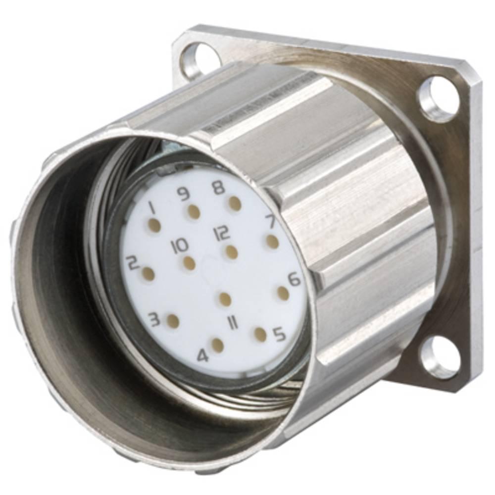 Sensor- /aktor-stikforbinder til indbygning M23 Tomt hus Weidmüller 1169950000 SAIE-M23-S-RM 1 stk