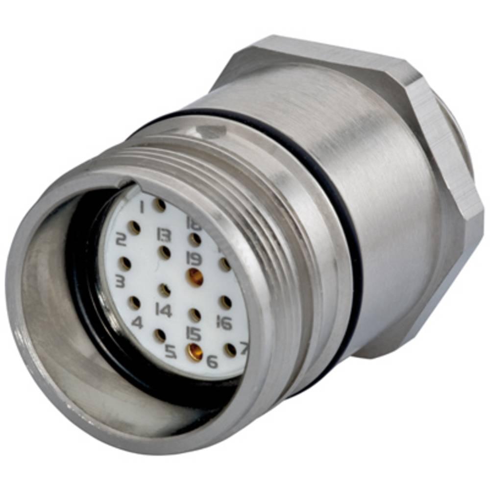 Sensor- /aktor-stikforbinder til indbygning Weidmüller SAIE-M23-S-EM 1 stk