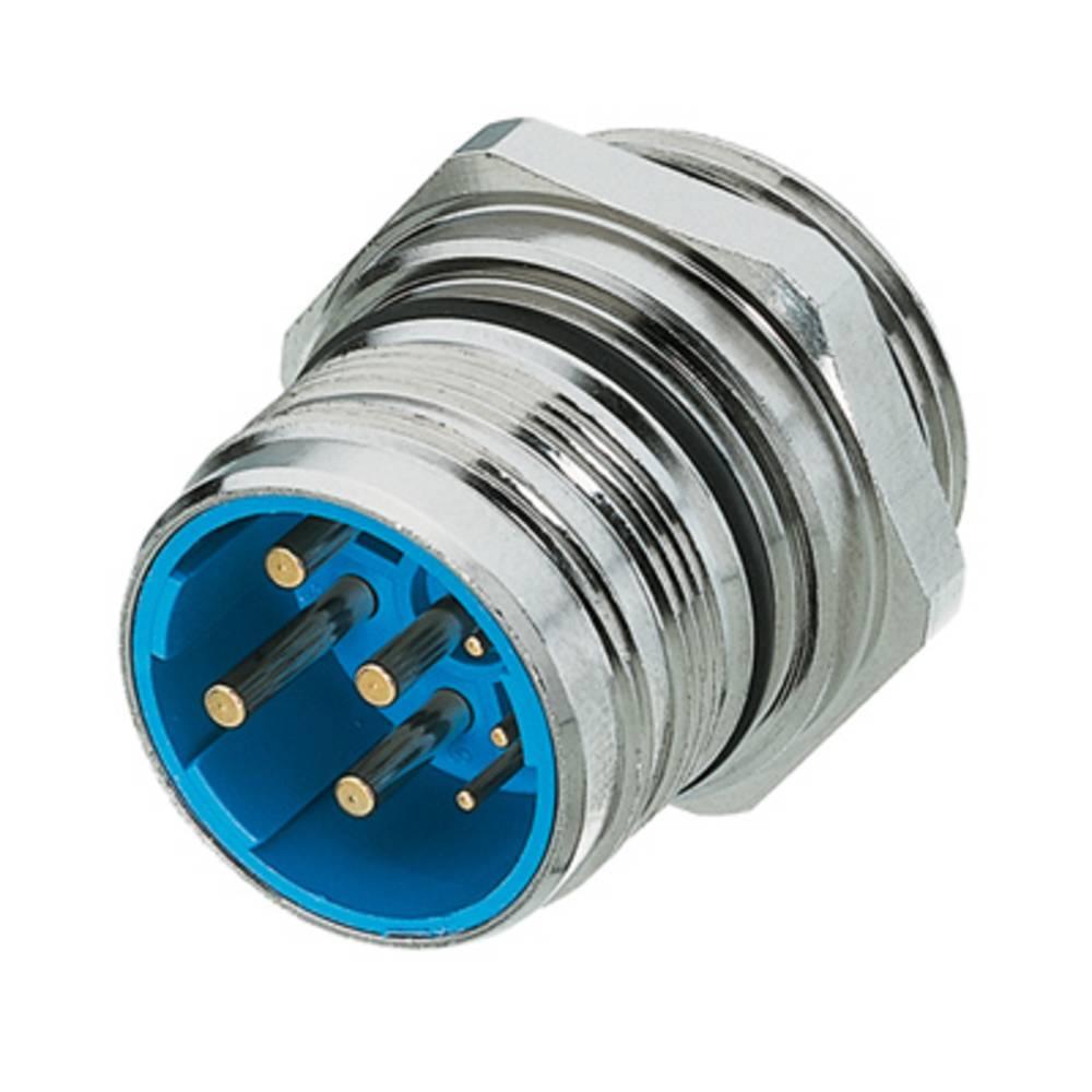 Vtični konektor za senzorje in aktuatorje,, vgradni vtič, prazno ohišje SAIE-M23-L-EM Weidmüller vsebuje: 1 kos