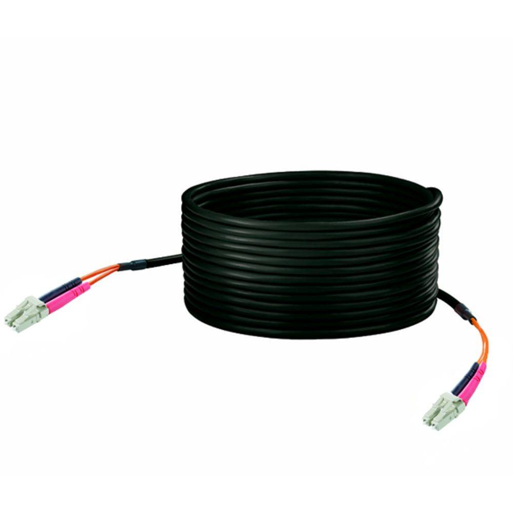 Optični priključni kabel [1x LC vtič - 1x LC vtič] 50/125µ Multimode OM2 50 m Weidmüller