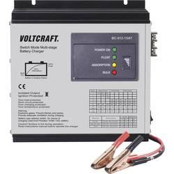 Blybatteri-oplader VOLTCRAFT BC-012-15AT 12 V Bly-calcium, Bly-gel, Blysyre, Bly-fleece