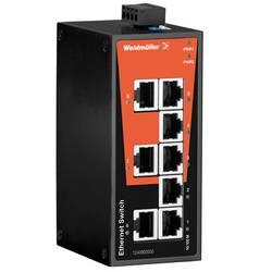 Omrežno stikalo, neupravljalno Weidmüller IE-SW-BL08-8TX število Ethernet vrat 8