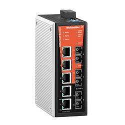 Omrežno stikalo, upravljalno Weidmüller IE-SW-VL08MT-5TX-3SC število Ethernet vrat 5