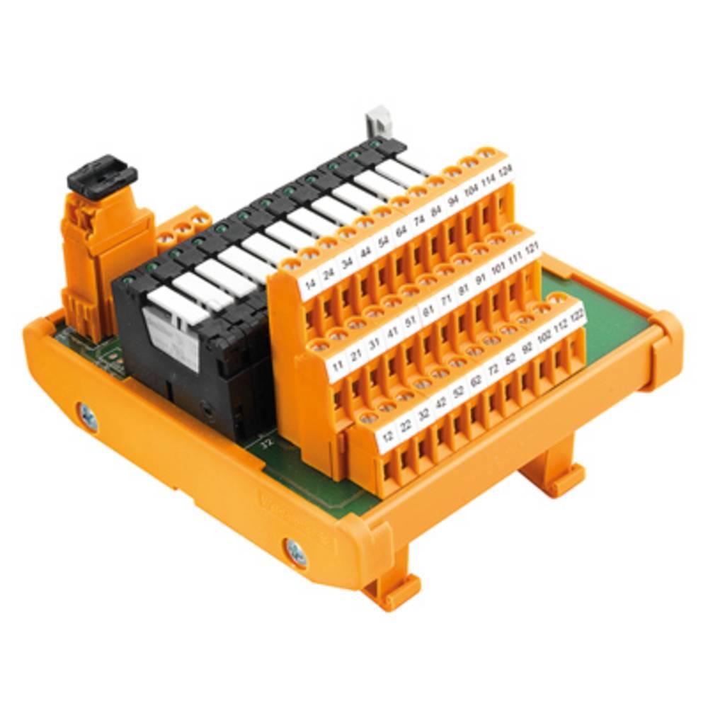 Relaisplatine (value.1292961) bestykket 1 stk Weidmüller RSM-12 PLC C 1CO S 250 V/AC